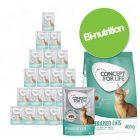 Pack bi-nutrition : Concept for Life 400 g de croquettes + 12 x 85 g sachets fraîcheur pour chat