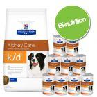 Pack bi-nutrition : croquettes + boîtes Hill's Prescription Diet pour chien