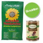 Pack bi-nutrition : croquettes Markus-Mühle + boîtes Lukullus