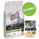 Pack bi-nutrition : PURINA PRO PLAN 10 kg de croquettes + 12 sachets de 85 g