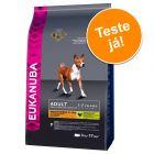 Pack de experimentação: Eukanuba 2 a 3 kg