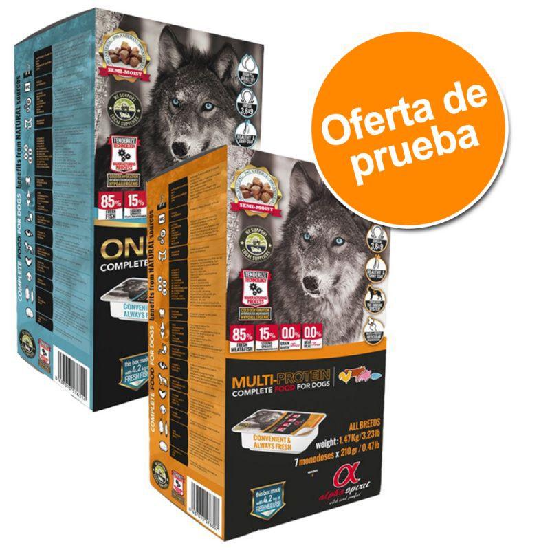 Pack de prueba Alpha Spirit comida para perros