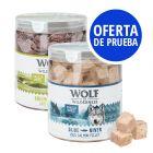 Pack de prueba mixto: Wolf of Wilderness snacks liofilizados premium