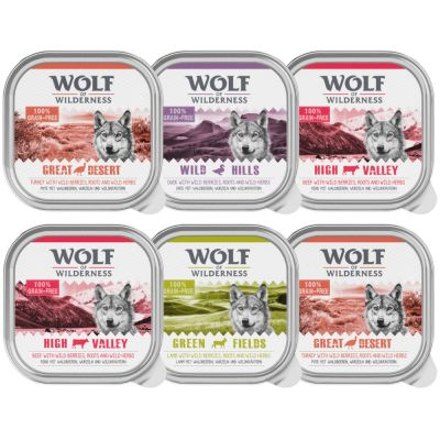 Pack de prueba Wolf of Wilderness 300 g/ 400 g / 800 g