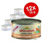 Pack económico Almo Nature, carne, 12 x 70 g