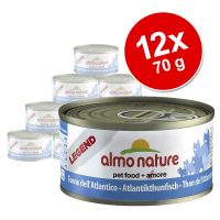 Pack económico Almo Nature Legend, peixe, 12 x 70 g