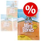 Pack económico: Barkoo Mini Bones snacks 8 x 200 g