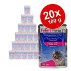 Pack económico: Feline Porta 21 comida para gatos 20 x 100 g