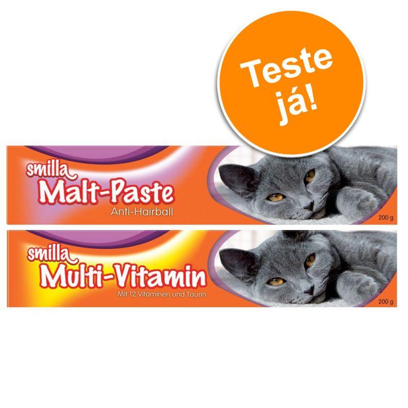 Pack experimentação: Pasta Smilla Multi-Vitaminas e Malte