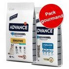 Pack gourmand Advance pour chat, 2 saveurs