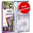 Pack gourmand bosch Senior 2 saveurs