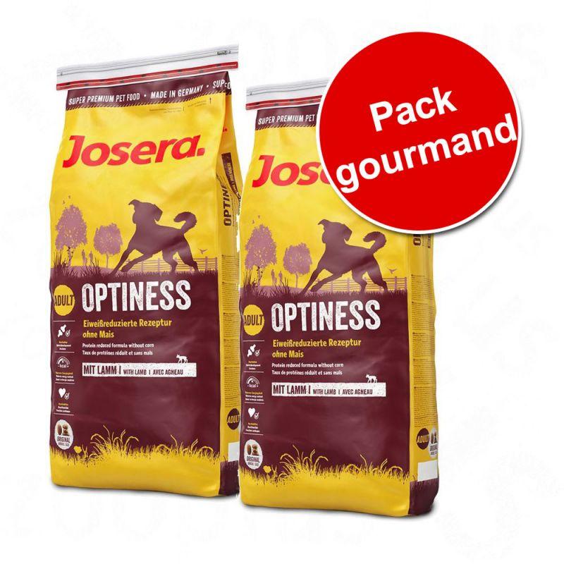 Pack gourmand Josera Adulte 2 saveurs
