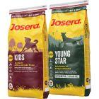 Pack gourmand Josera Junior 2 saveurs pour chien