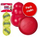 Pack malin : 3 jouets KONG
