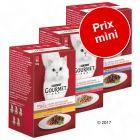 Pack malin : lot mixte Gourmet Mon Petit 18 x 50 g pour chat