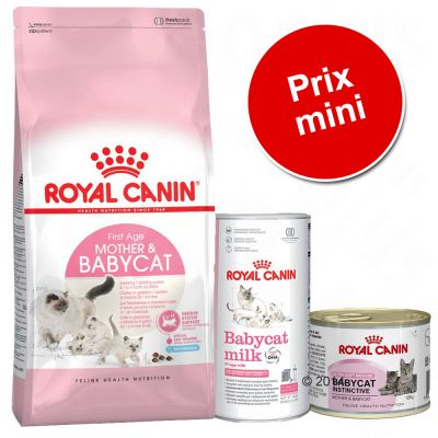 Pack malin : Lot Royal Canin Mother & Babycat