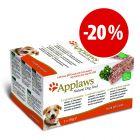Pack mixto Applaws de latas para perros ¡a precio especial!