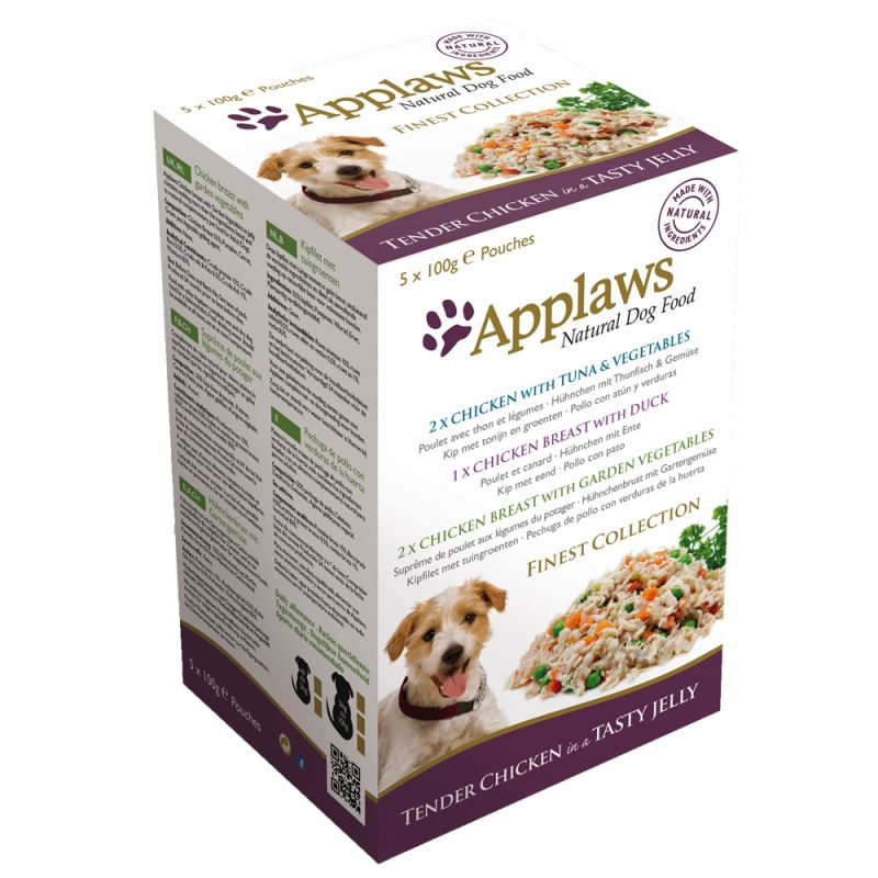 Pack mixto Applaws Finest Collection para perros