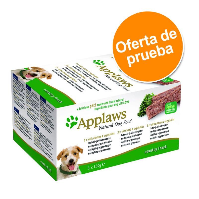 Pack mixto Applaws Paté para perros 5 x 150 g