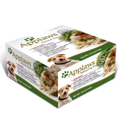 Pack mixto Applaws Recipe Collection para perros