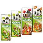 Pack mixto: Versele-Laga Crispy Sticks para herbívoros