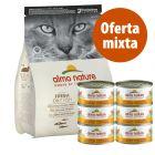 Pack nutrición mixta: pienso 2 kg + latas Almo Nature 6 x 70/140 g
