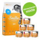 Pack nutrición mixta: pienso 4 kg + latas 6 x 200 g Smilla