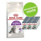 Pack nutrición mixta: pienso 4 kg + sobres Royal Canin 24 x 85 g