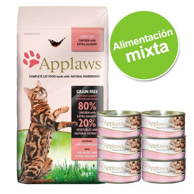 Pack nutrición mixta: pienso + latas Applaws