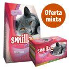 Pack nutrición mixta: pienso + latas Smilla Sterilised