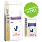 Pack nutrición mixta: pienso + sobres Royal Canin Veterinary Diet