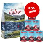 Pack Puppy: Purizon Puppy 1 kg + 6 x 400 g Rocco Junior