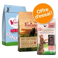 Pack Sans céréales : Purizon + Feringa + Applaws 3 x 400 g