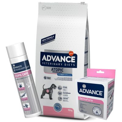 Pack Soluções Advance Veterinary Diets Derma