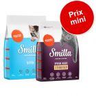 Pack transition : Croquettes Smilla Kitten + Adulte ou Sterilised à prix mini !