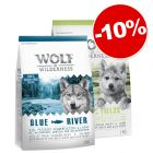Pack transition : Little Wolf of Wilderness Green Fields + Adult, 10 % de remise !