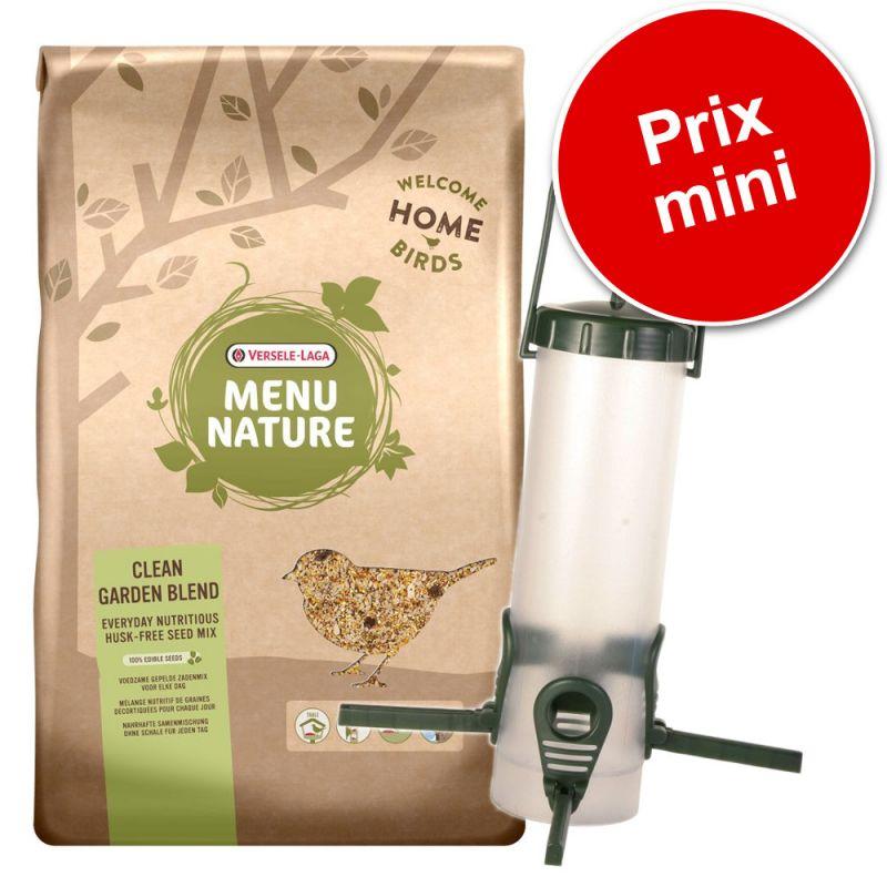 Pack Versele-Laga Menu Nature Clean Garden + Distributeur Trixie