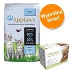 Pakiet Applaws Kitten, 7,5 kg + Applaws Kitten w puszkach, 6 x 70 g