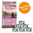 Pakiet dla kociąt: Purizon Kitten, 400 g + Cosma Nature Kitten, 6 x 70 g
