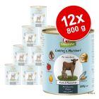 Pakiet GranataPet Liebling's Mahlzeit, 12 x 800 g
