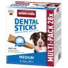 Pakiet mieszany Animonda Dental Sticks Medium, 4 x 180 g