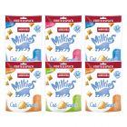 Pakiet mieszany Animonda Milkies chrupiące poduszeczki, 120 g