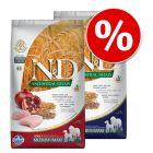Pakiet mieszany Farmina N&D, 2 x 12 kg