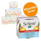 Pakiet mieszany Schesir Fruit, 6 x 75 g