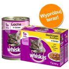 Pakiet mieszany Whiskas - 12 x 400 g puszki + 12 x 100 g saszetki