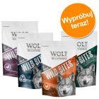 Pakiet mieszany Wolf of Wilderness Snack – Wild Bites