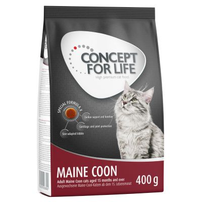 Pakiet próbny: Concept for Life, 400 g + Cosma Nature, 6 x 70 g
