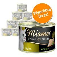 Pakiet próbny Miamor Feine Filets Naturelle, 12 x 156 g