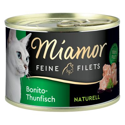 Pakiet próbny Miamor Feine Filets Naturelle, 12 x 156 g