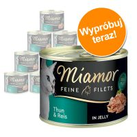 Pakiet próbny Miamor Feine Filets w puszkach, 12 x 185 g